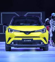 丰田最新潮的SUV-CHR上市